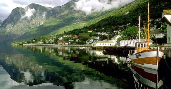 Aurland Harbor, Norway | Photogenic Image