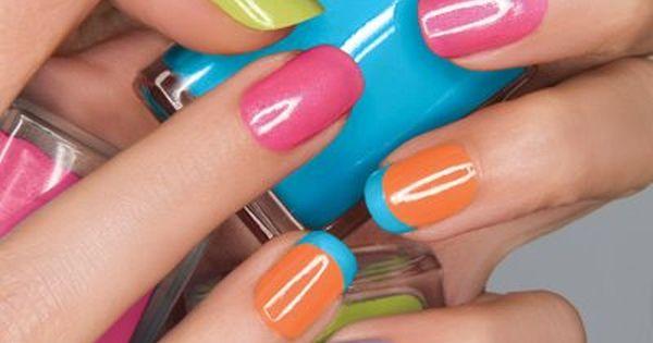 Neon Nails sandsummerstyle