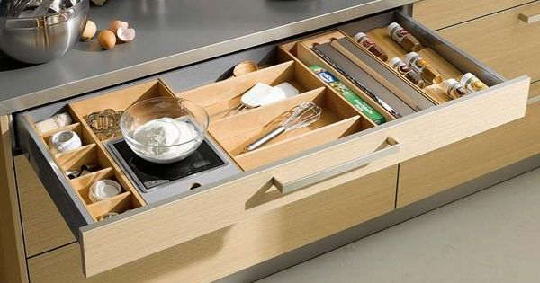 Cool Kitchen Drawer Ideas At Practical Organization In The Kitchen Cabinet Comfortable Kitchen