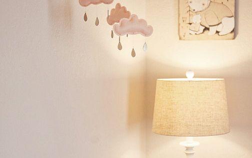 Elegant Peach and Brown Baby Girl Nursery Room Reveal | Baby Lifestyles