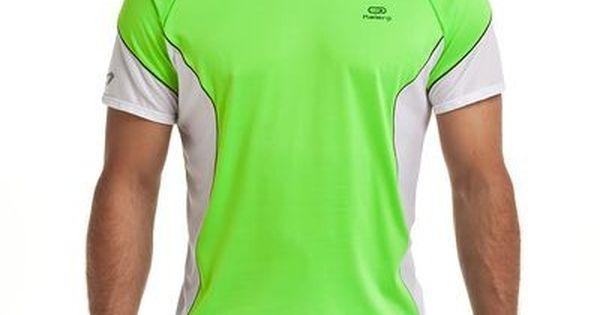 alto polvo Inspector  www.decathlon.es camiseta-manga-corta-running-feel-verde-id_8238597.html |  Camisetas, Ropa deportiva para hombre, Camisetas deportivas