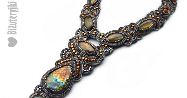 Aukcje Wielkiej Orkiestry Swiatecznej Pomocy Fashion Necklace Soutache Jewelry Soutache Necklace