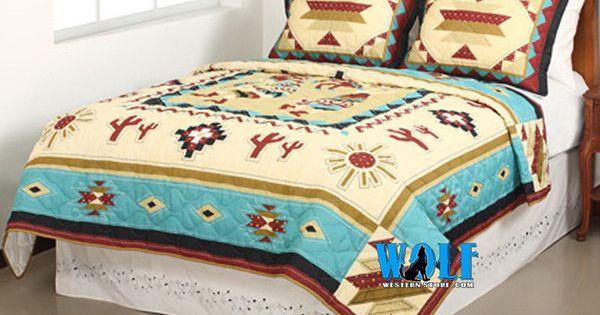 Full Queen Size Southwestern Kokopelli Indian Blanket