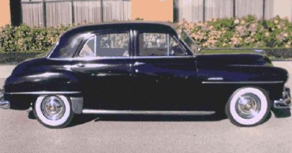 1951 plymouth cranbrook must sell 1951 4 door black for 1951 plymouth 2 door