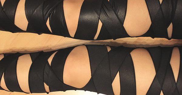 Syl and Sam: tutorial - Bandaged Leggings
