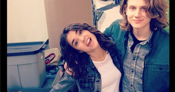 Alex saxon the fosters and maia mitchell on pinterest