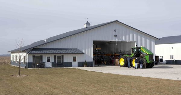 Larry S Farm Shop With Living Quarters 187 Morton Buildings