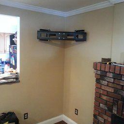 Robot Check Corner Tv Wall Mount Wall Mounted Tv Corner Tv