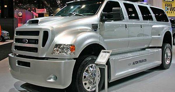 Extreme Big Luxury Trucks | Chicago Auto Show 2008: Riding ...