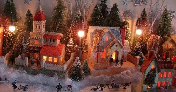 Putz Houses Make Your Own Christmas Village With These