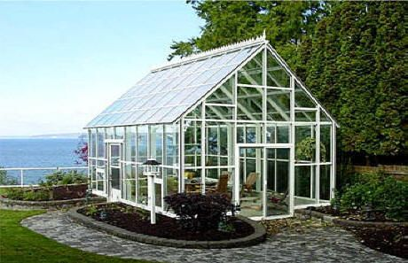 Greenhouse White Steel Wooden Greenhouses Glass House Greenhouses For Sale