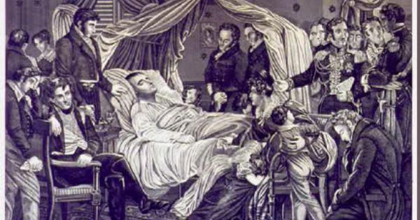 Napoleon S Deathbed Napoleon Saint Helena Napoleon Poster Prints