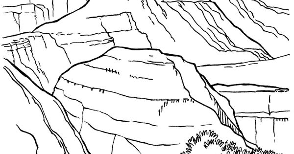 grand canyon coloring pages - photo#10