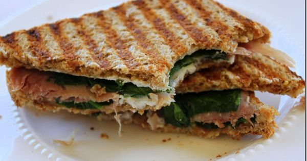 goat cheese, prosciutto, and spinach panini | Yum. | Pinterest ...
