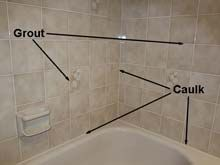shower tile shower grout diy remodel