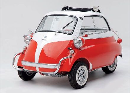 1957 Bmw Isetta 300 This is like the first car of my