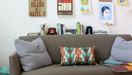5 Creative Ways To Hang Artwork Without A Frame At Home
