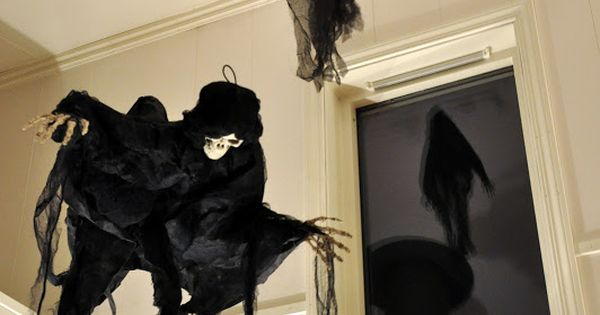 Harry Potter themed party - dementors