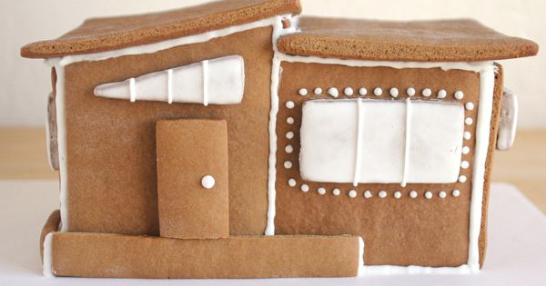 Modern Gingerbread House |tutorial w/template| Oh Happy Day
