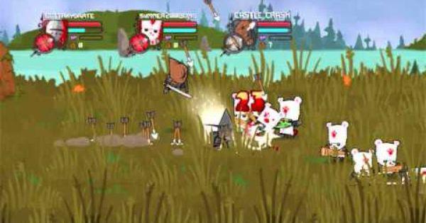 Castle Crashers White Bear Boss White Bear Castle