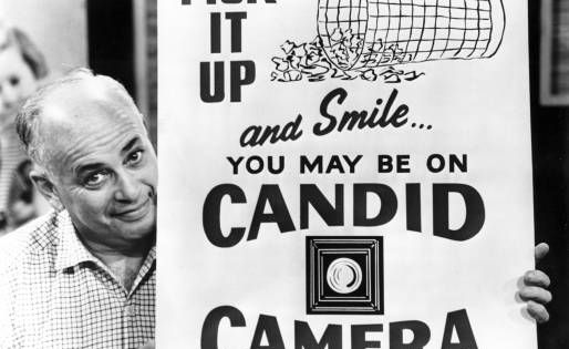 Allan Funt on Candid Camera
