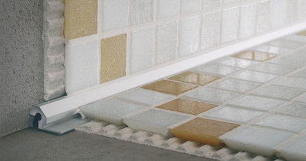 Tile Edge Trim In Aluminum Inside Corner Mosaictec Crm Profilitec Stena Plitka Sovremennyj Tualet Interer