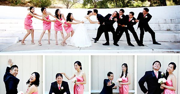 creative bridal party portraits 25 Strike a Pose | Bridal Party Poses
