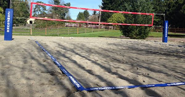 Volleyball Boundary Lines Sand Volleyball Court Volleyball Sport Court