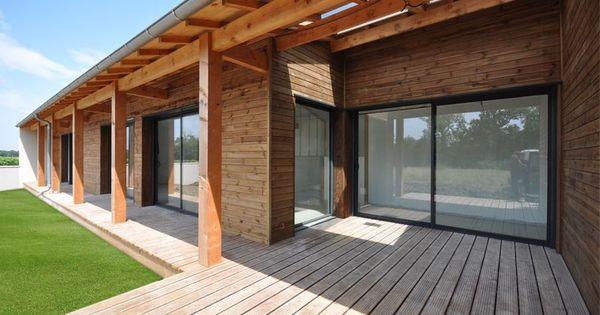 Avant toit en douglas bardage alto pin classe 4 marron et for Bois exterieur classe 4