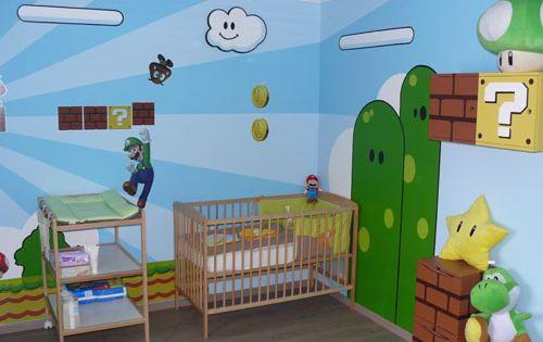 Decoracion mario bros 1 m s habitaciones infantiles - Habitaciones infantiles tematicas ...