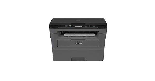 Amazon Com Brother Compact Monochrome Laser Printer Hll2390dw Convenient Flatbed Copy Scan Wireless Printing Duplex Two Laser Printer Printer Monochrome