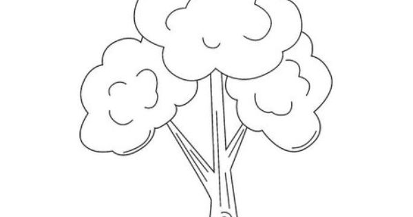 Coloring pages tree this will print full screen for