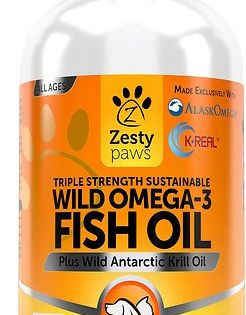 Buy Zesty Paws Wild Omega 3 Fish Oil Plus Antarctic Krill Oil Dog Supplement 8 Oz Bottle At Chewy Com F Antarctic Krill Oil Itch Relief Skin Omega 3 Fish Oil
