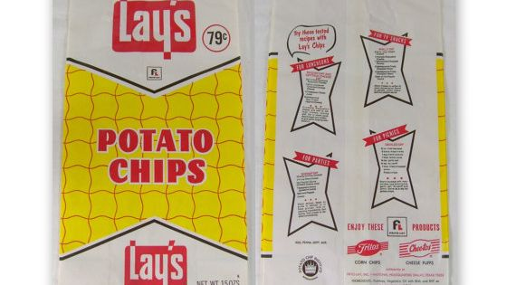 Chip bags potato chips and chips on pinterest