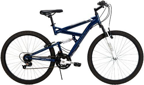 Huffy 26inch Mens Ds3 Dual Suspension Bike Blue You Can Find Out More Details At The Link Of The Image Suspension Bike Dual Suspension Mountain Bike Huffy
