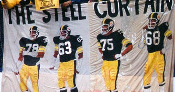The Steel Curtain | Steelers Moments & Memories | Pinterest | The ...