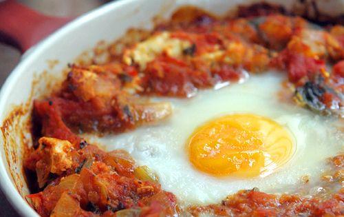 Shakshuka recipes, David and Eggs on Pinterest