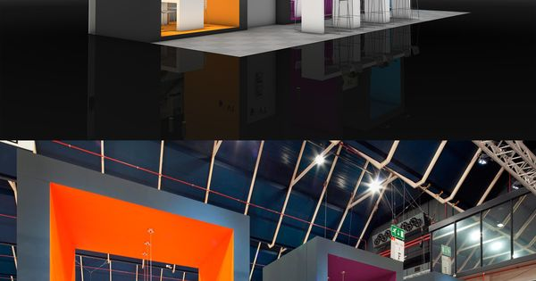 Exhibition Stand Builders Netherlands : Exhibition stand design from the inside building at