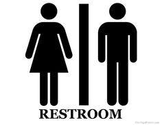 Printable Unisex Restroom Sign Restroom Sign Printable Bathroom Signs Bathroom Signs