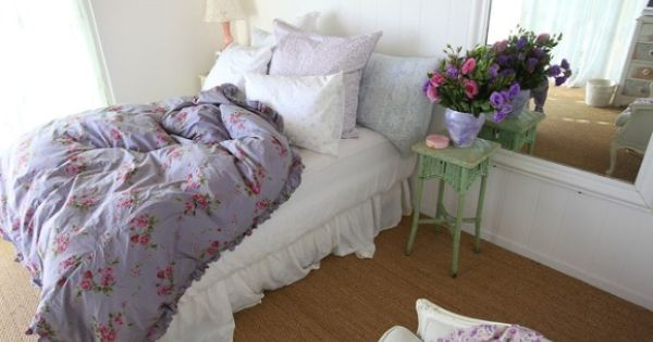 shabby chic- very comfy guest room?