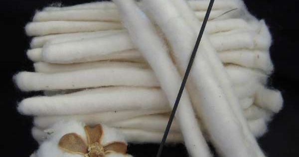 Threads And Fibers Mail: Easy Spin Cotton Kit. Jump Right In And Learn To Spin