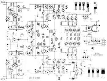 2000w Power Amplifier Circuit Diagram Audio Amplifier Power Amplifiers Circuit Diagram