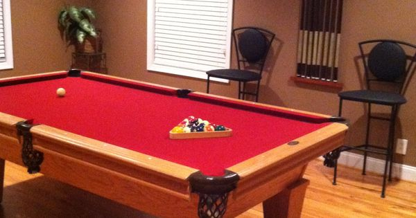 Our Pool Table Room