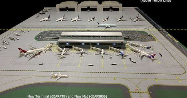Gemini Jets 2 Piece Airport Mat Set 1 400 Scale Gjaps006 By Gemini Jets