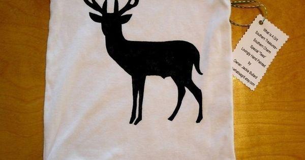 Onesie Baby Jumper Baby TShirt Deer Hunting Trendy by whatisagrit