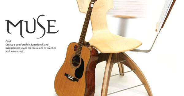 ergonomic guitar practice chair guitar music inspired home pinterest chairs muse and. Black Bedroom Furniture Sets. Home Design Ideas