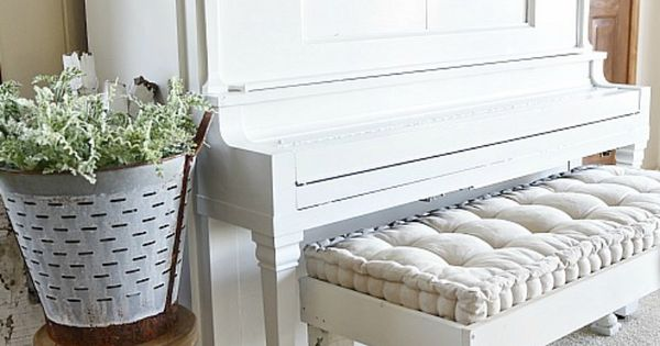 We painted our piano how to paint your piano decor styles pianos and farmhouse living rooms - How we paint your room ...