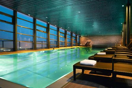 Club Olympus Spa Fitness Swimming Pool At Night More Information On Berlin