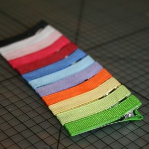 104pc Hair Band Barette Snap Clip BB Clip Alligator Lined DIY Craft Hair Bow