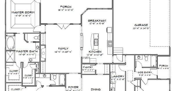 Plan Sc 2700 960 4 Or 5 Bedroom 3 Bath Home With A 3